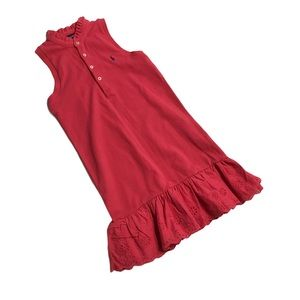 🧚♀4/$25 + $5 POLO Girl's Dress Size 6